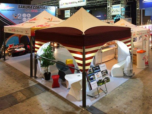 Stand de Sakura Corporation au salon Live Entertainment & Event Expo
